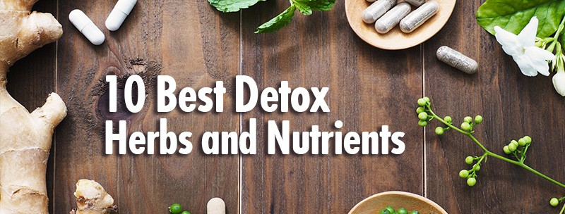 10 best detox herbs and nutrients